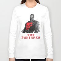 punisher Long Sleeve T-shirts featuring The Punisher by Prince Of Darkness