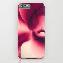 Splash of Wine Fractal iPhone Case
