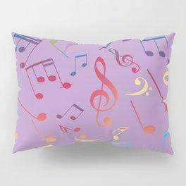 Musical Notes 7 Pillow Sham