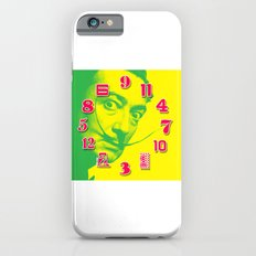Salvador Dali Dial Clock Face Pop Art Slim Case iPhone 6s