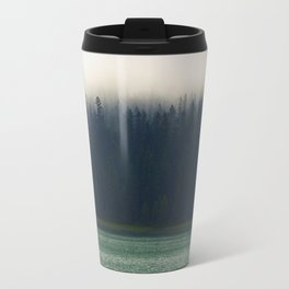 Faded Forest And Lake Travel Mug