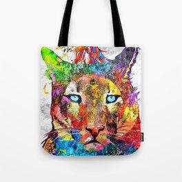Puma Watercolor Grunge Tote Bag
