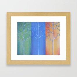 """Fall, Winter, Spring"" Framed Art Print"