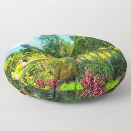 The Beauty Of Nature Floor Pillow