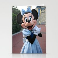 minnie mouse Stationery Cards featuring Minnie Mouse by Jackash14