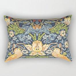 William Morris Strawberry Thief Restored Rectangular Pillow