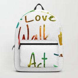 bible art Backpack