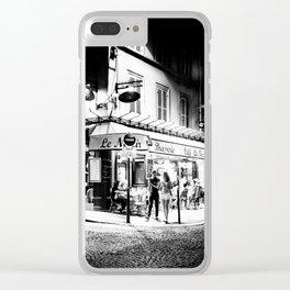 Café le Nazir (Montmartre; Paris) Clear iPhone Case