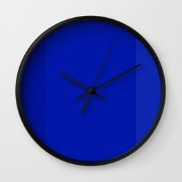 Kobalt Blue Tri Blend Home And Office Prints Wall Clock