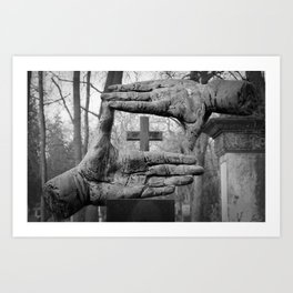 About us Art Print