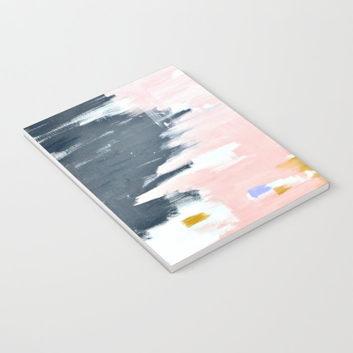 Multicolor spring abstract Notebook