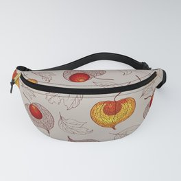 fruits of Physalis Fanny Pack