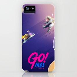 M83 - GO! Music Inspired Illustration iPhone Case