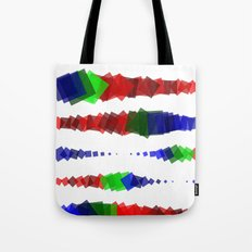 Screen Squares Tote Bag