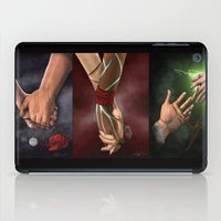 dragon age iPad Cases featuring Dragon Age Romance Trilogy by maeveschild