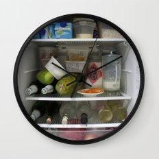 Fridge Candies  2   [REFRIGERATOR] [FRIDGE] [WEIRD] [FRESH] Wall Clock