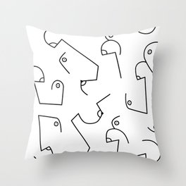 Boobies Throw Pillow