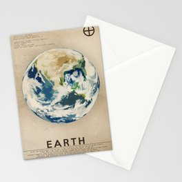 Earth Stationery Cards