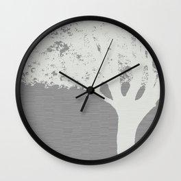 9/11 Survivor Tree Wall Clock