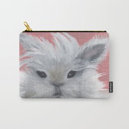 Fluffy rabbit Carry-All Pouch