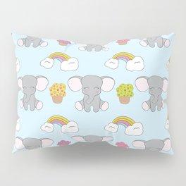 Cute elephants Pillow Sham