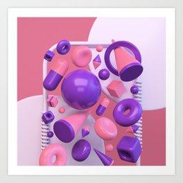 Primitives Art Print