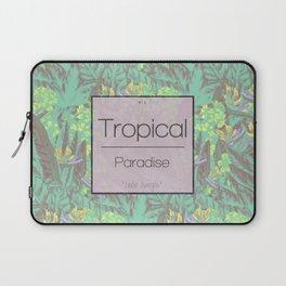 Tropical Paradise: Jade Jungle Laptop Sleeve