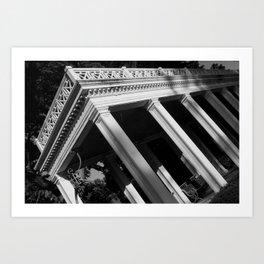 Mount Vernon Gardens  Art Print