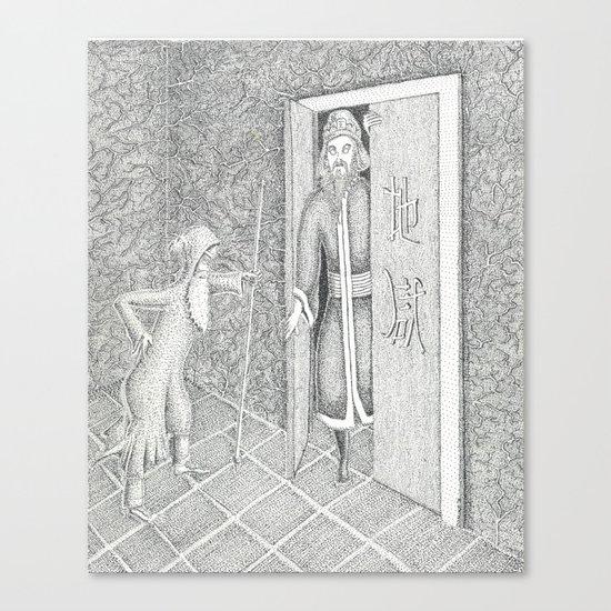 At Death's Door Canvas Print