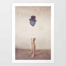 The Top Hat Art Print
