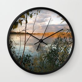 In a World Where There are Octobers Wall Clock