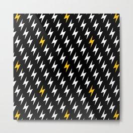 Bolts of lightning Metal Print
