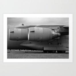 C17 Engines Art Print