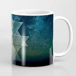 Starlight Geometry Coffee Mug