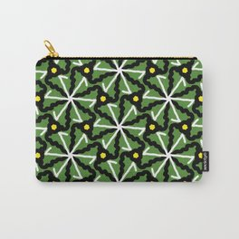 colorful illusion pattern background Carry-All Pouch