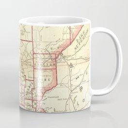 Vintage Map of Minnesota (1893) Coffee Mug