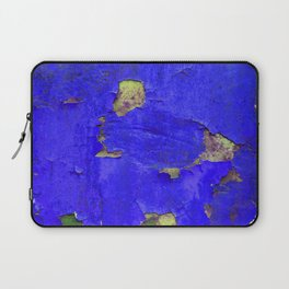 Blue chipped paint Laptop Sleeve