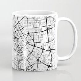 Tianjin Map White Coffee Mug