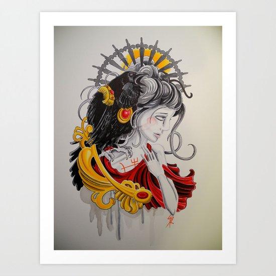 End Strife Art Print