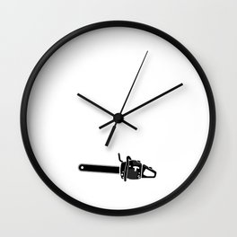 A Logger is a Special Breed of Man Tradesman Wall Clock