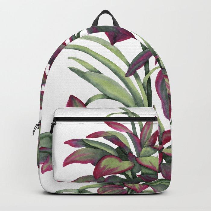 Tropical Leaves Sing Backpack