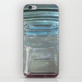 Mason jar iPhone Skin