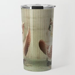 Owl Be Waiting Travel Mug