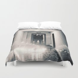 what is reality ? Duvet Cover