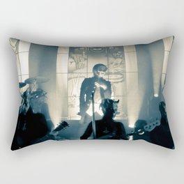 He is. Rectangular Pillow