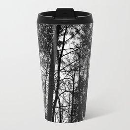 B/W Forest Travel Mug