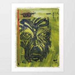#1 Art Print