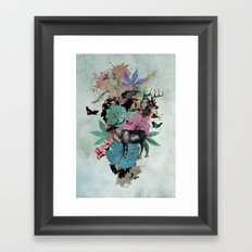 De Natura Framed Art Print