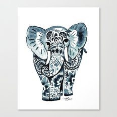 Nadia Elephant Canvas Print