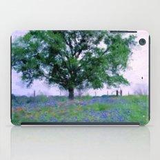Bluebonnet Tree iPad Case